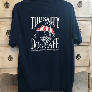 The Salty Dog Cafe Navy Shirt